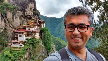 At Taktsang, Bhutan.